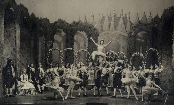 Prinsessa Ruusunen 1950